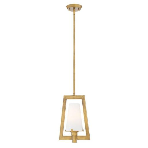 Designers Fountain Hyde Park Mini Pendant, Vintage Gold