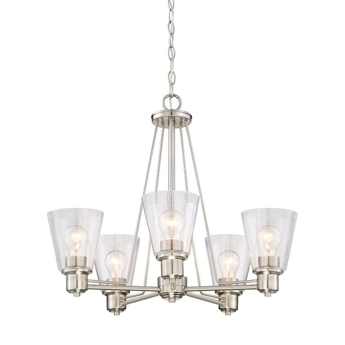 Designers Fountain Printers Row Chandelier, Bronze