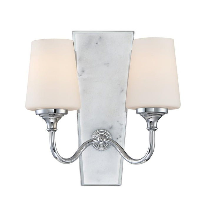 Designers Fountain Lusso Wall Sconce, Chrome