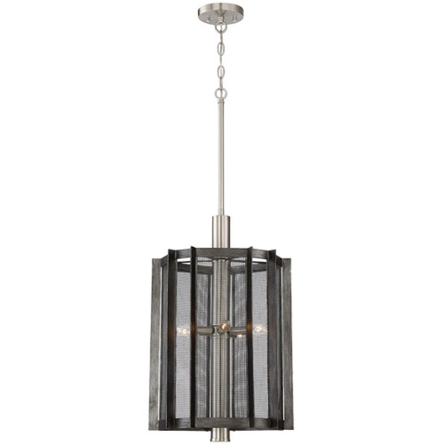 Designers Fountain Baxter 5 Light Foyer, Weathered Iron