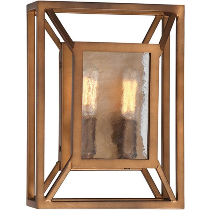 Designers Fountain Athina 2 Light Wall Sconce, Gilded Bronze
