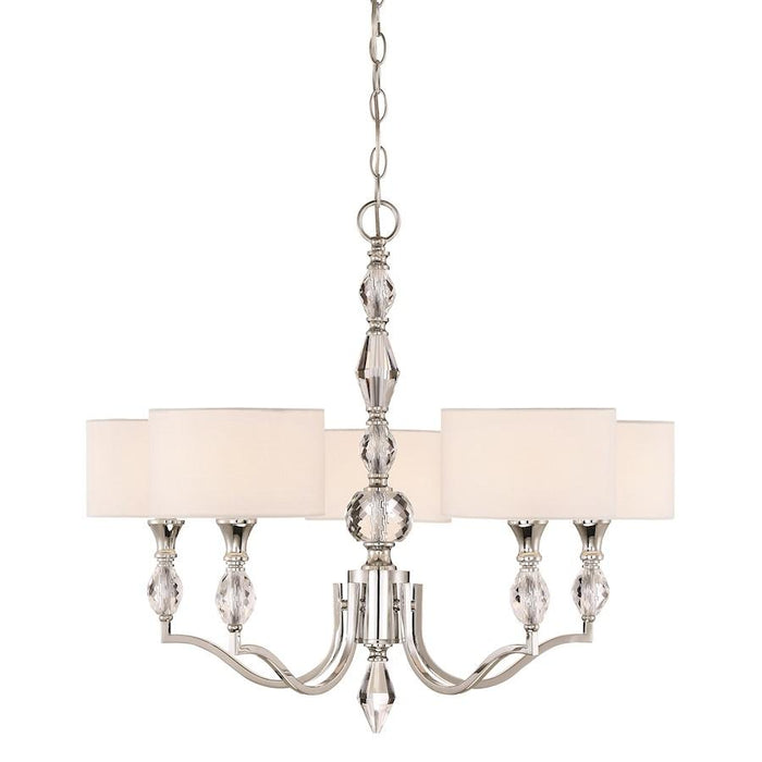 Designers Fountain Evi Chandelier, Chrome