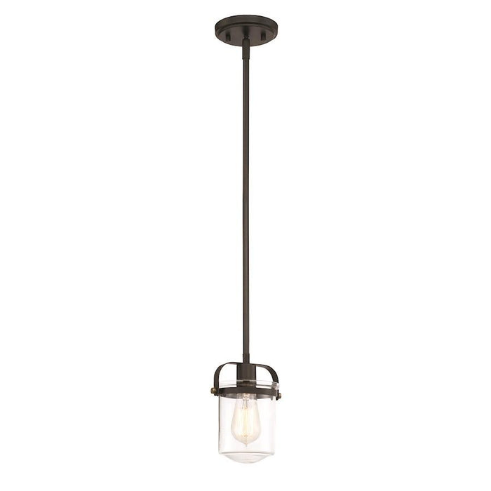 Designers Fountain Jaxon Mini Pendant, Oil Rubbed Bronze