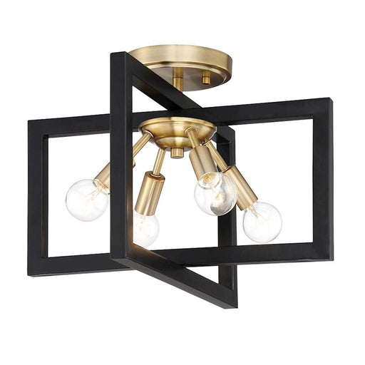 Designers Fountain Xander 4 Light Semi-Flush