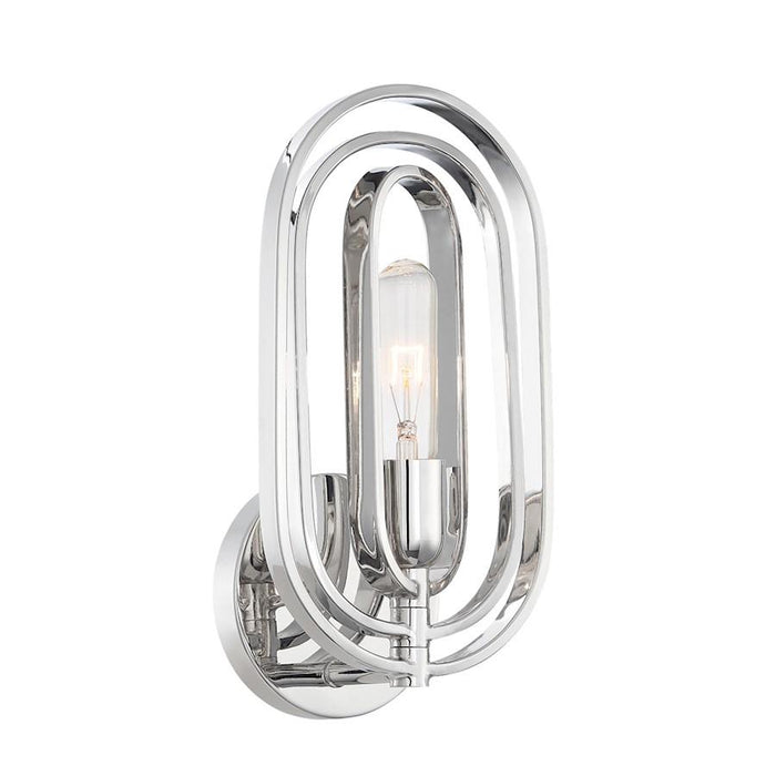Designers Fountain Kenzo Bathroom Vanity Lighting, Polished Nickel
