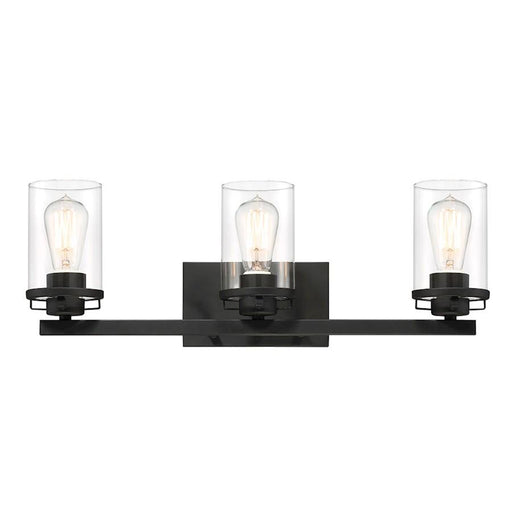 Designers Fountain Jedrek Bath Light, Black