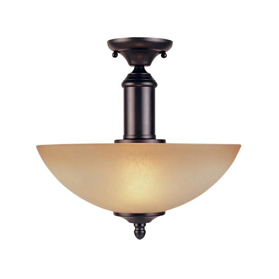 Designers Fountain Apollo Semi Flush, Oil Rubbed Bronze