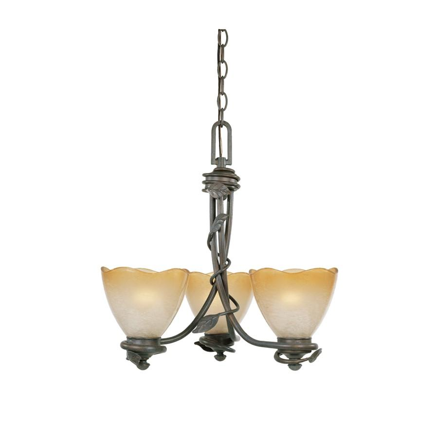 Designers Fountain Timberline Chandelier, Old Bronze