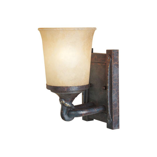 Designers Fountain Austin Wall Sconce, Weathered Saddle