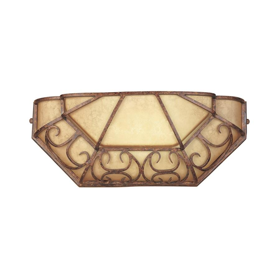 Designers Fountain Amherst Fluorescent Wall Sconce, Burnt Umber