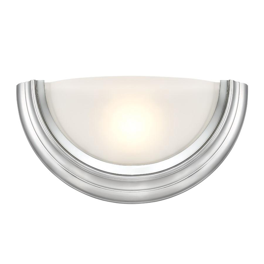 Designers Fountain Saturn LED Wall Sconce, Brushed Nickel