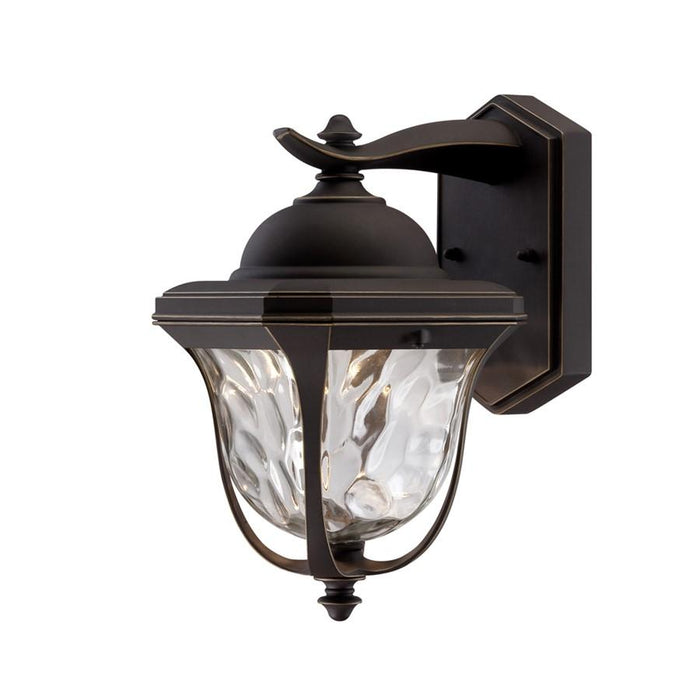 Designers Fountain Marquette LED Wall Lantern, Bronze Patina