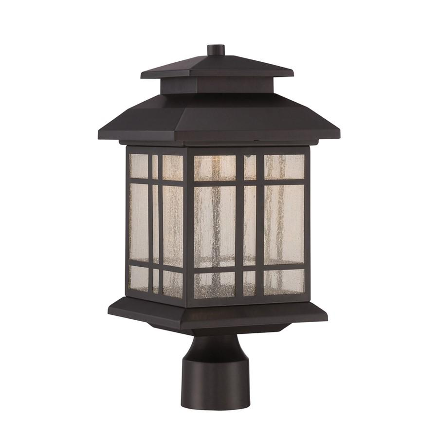 "Designers Fountain Piedmont 8"" LED Post Lantern, Bronze"