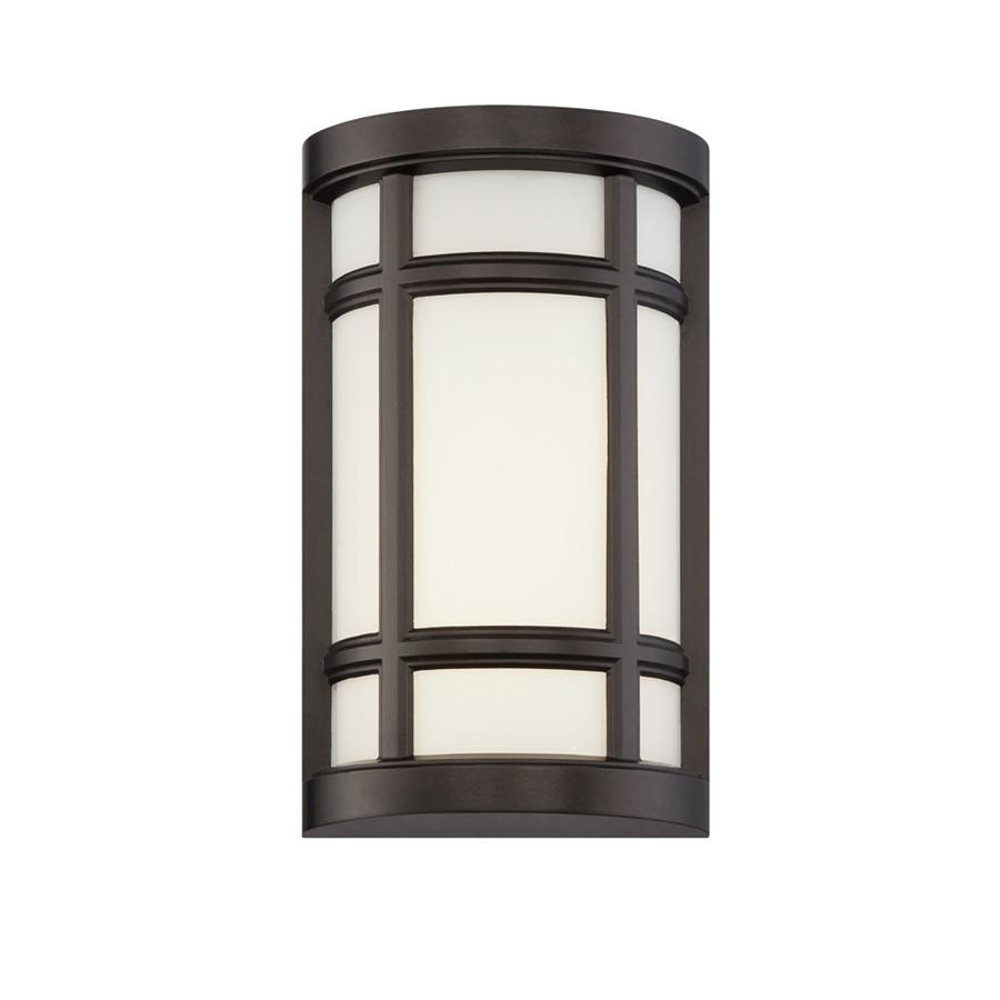 Designers Fountain Logan Square LED Wall Sconce, Burnished Bronze