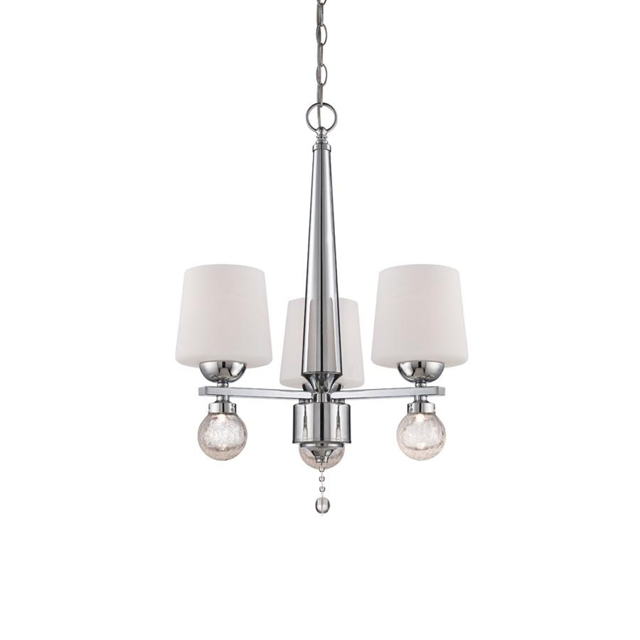 Designers Fountain Astoria Chandelier, Chrome