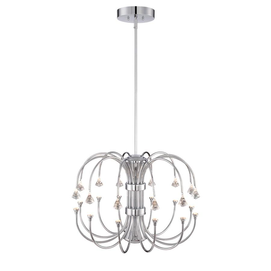 Designers Fountain Galaxy LED Chandelier, Chrome