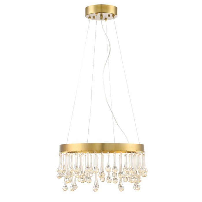 Designers Fountain Lucienne Pendant, Luxor Gold