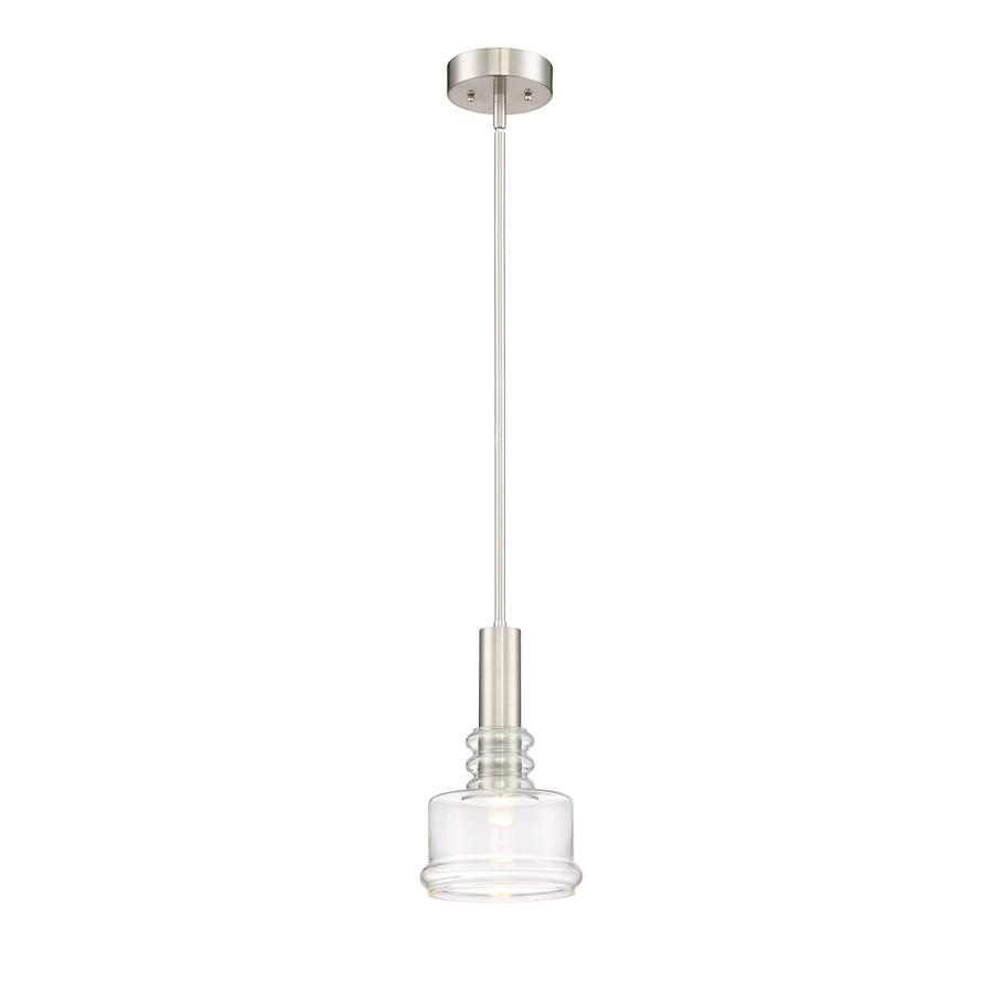 Designers Fountain Kami LED Pendant, Platinum