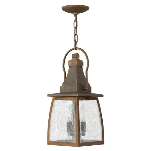 Hinkley Lighting Montauk 2 Light Outdoor Hanging, Sienna