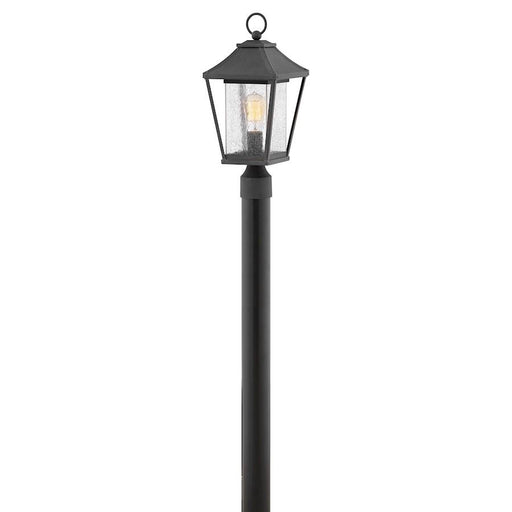 Hinkley Lighting Palmer 1 Light Post Top/Pier Mount, Museum Black