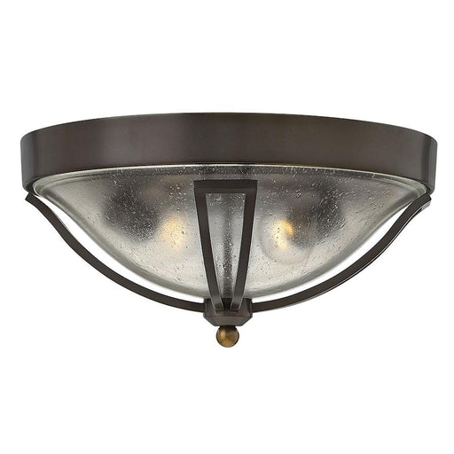 Hinkley Lighting Bolla 2 Light Outdoor Flush Mount, Olde Bronze