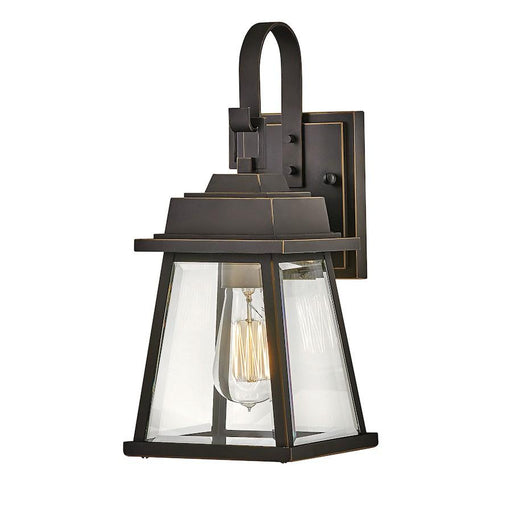 "Hinkley Lighting 14"" Bainbridge 1 Light Wall Mount, Oil Rubbed Bronze"