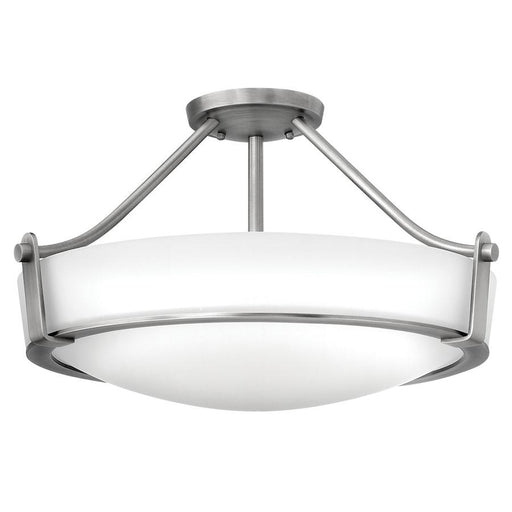 Hinkley Lighting Foyer Hathaway, Antique Nickel
