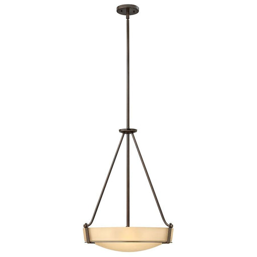 Hinkley Lighting LED Hathaway Stem Hung Foyer, Olde Bronze