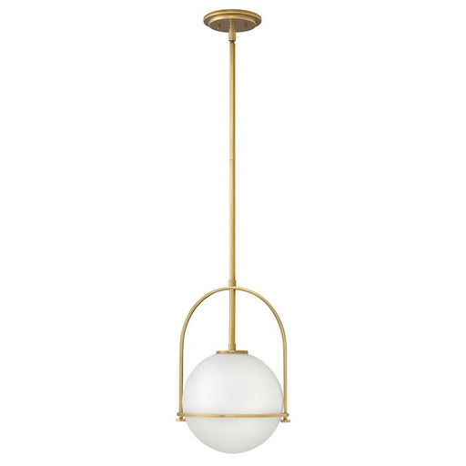 Hinkley Lighting Somerset 1 Light Pendant Pendant, Heritage Brass
