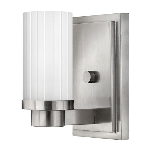 Hinkley Lighting Midtown 1 Light Sconce, Brushed Nickel