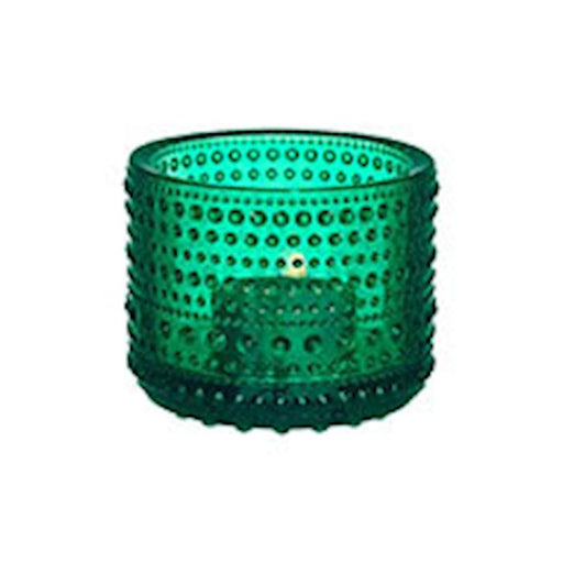 iittala Kastehelmi Tea Candle Holder in Emerald