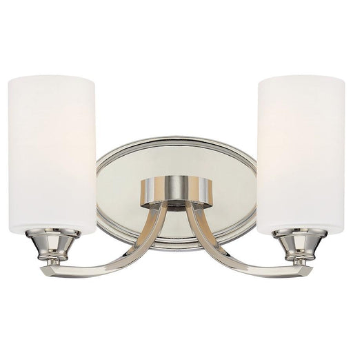 Minka Lavery Tilbury Bath Vanity Light Polished Nickel