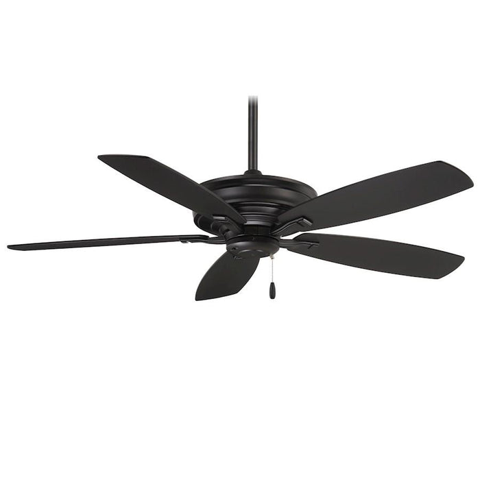 "Minka Aire Kafe 52"" Ceiling Fan, Coal"