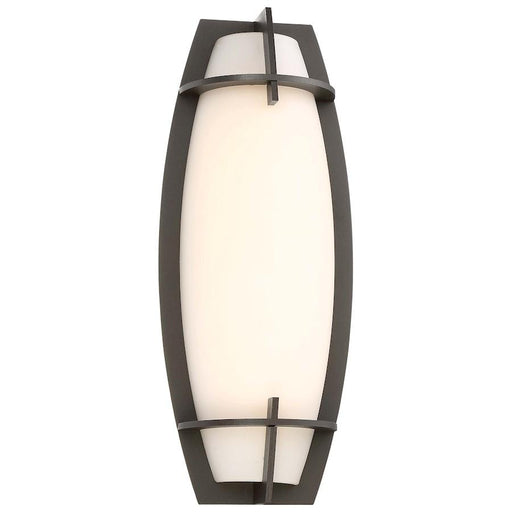 Minka George Kovacs Morida LED Wall Sconce, Pebble Bronze