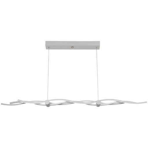 Minka George Kovacs Tidalist LED Island Light, Silver