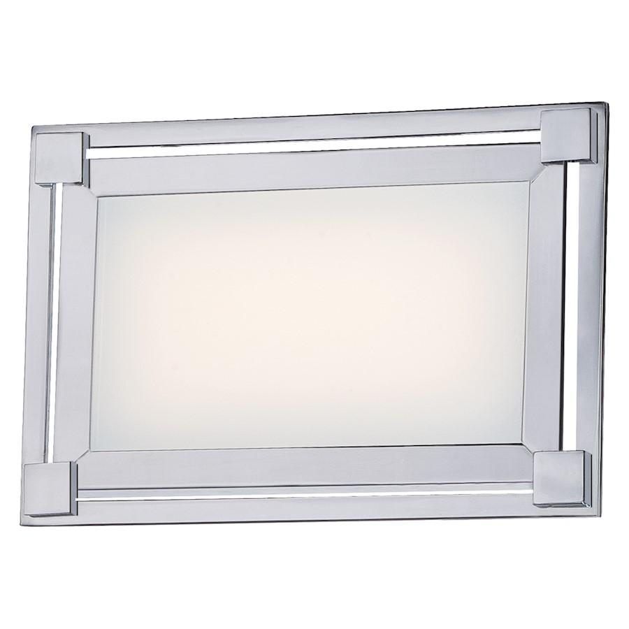 Minka George Kovacs Framed LED Bath, Chrome