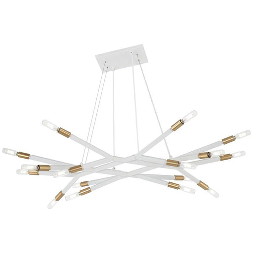 George Kovacs Star Crossed 16 Light Island, White/Gold