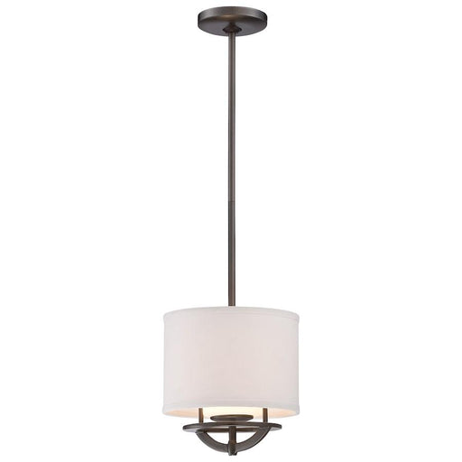 Minka George Kovacs Circuit 1 Light Mini Pendant, Smoked Iron