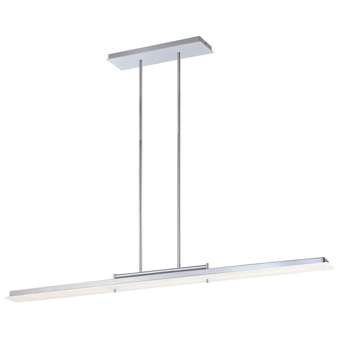 Minka George Kovacs Twist And Shout LED Island Light, Chrome