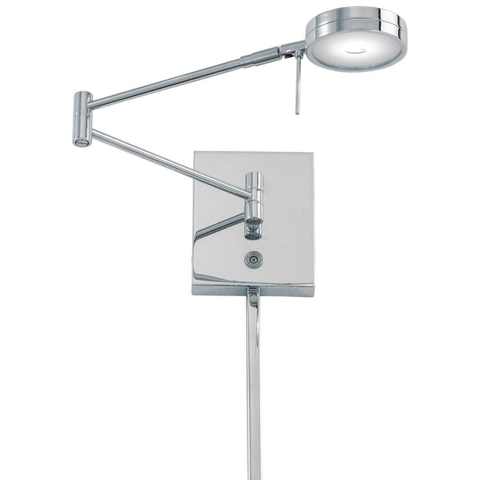 Minka George Kovacs Reading Room Contemporary LED Swing Wall Lamp
