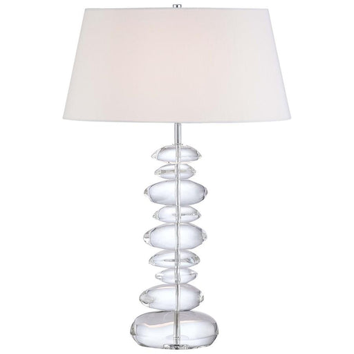 Minka George Kovacs Table Lamp, Chrome