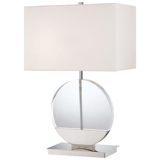 Minka George Kovacs 2-LT Table Lamp, Polished Nickel
