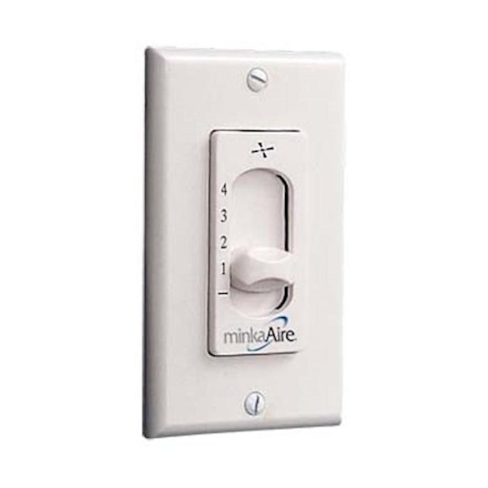 Minka Aire 115 Wall Speed Control, White