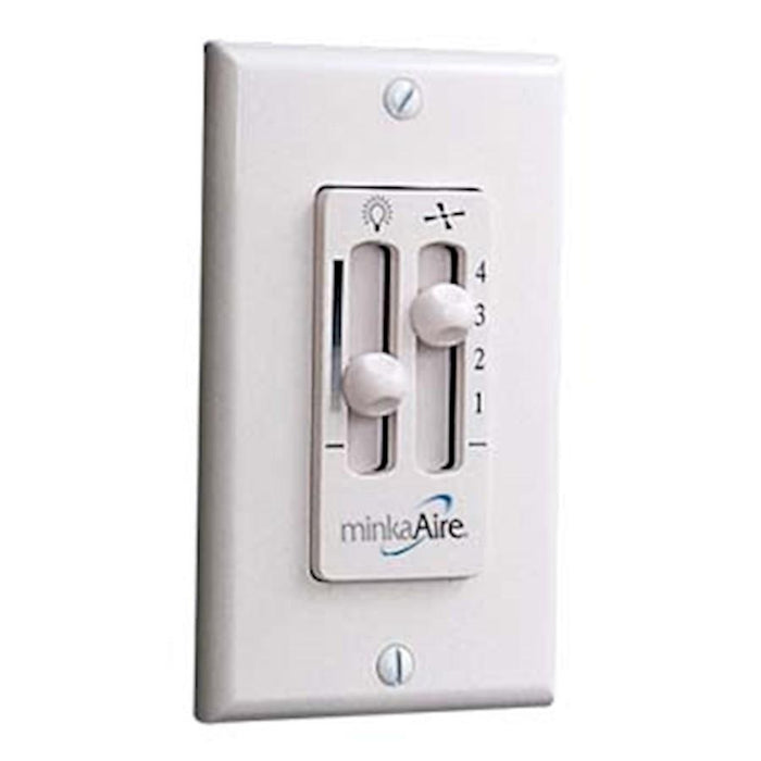 Minka Aire 4 Speed Wall Control, White