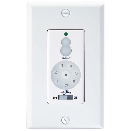 Minka Aire Dc 400 Fan Wall Remote Control Full Function, White