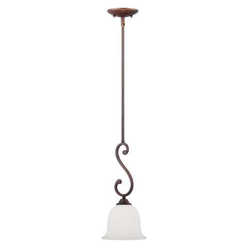 Millennium Lighting Courtney Lakes 1-LT Mini-Pendant, Bronze