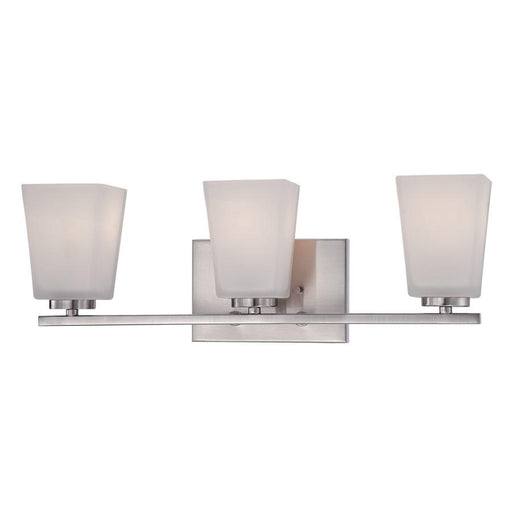 Millennium Lighting Vanity Light, Brushed Nickel