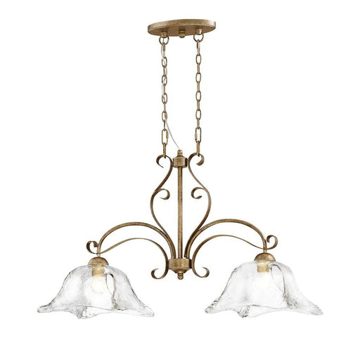 Millennium Lighting Chatsworth  Island Lighting, Vintage Gold