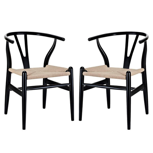 Modway Furniture Amish Dining Armchair Set Of 2