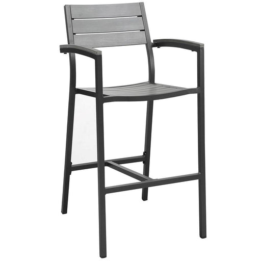 Modway Furniture Maine Outdoor Patio Bar Stool